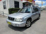 2002 Subaru Forester 79V MY02 Limited Silver 5 Speed Manual Wagon North Parramatta Parramatta Area Preview