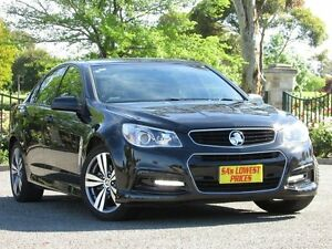 2013 Holden Commodore VF MY14 SV6 Black 6 Speed Sports Automatic Sedan Blair Athol Port Adelaide Area Preview