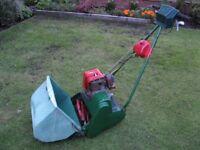 Wanted petrol lawnmower