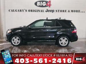 2012 Mercedes-Benz M-Class ML 350 BlueTec Diesel | LOADED!