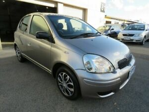 2004 Toyota Echo NCP10R Grey 4 Speed Automatic Hatchback Werribee Wyndham Area Preview