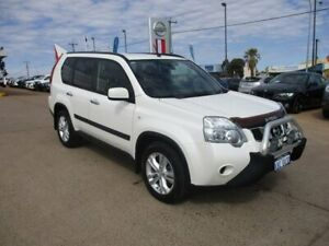 2012 Nissan X-Trail T31 Series V TS White 6 Speed Sports Automatic Wagon South Kalgoorlie Kalgoorlie Area Preview