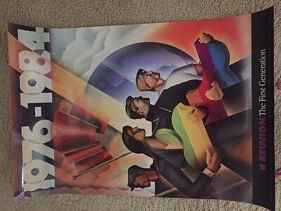 Vintage Apple Reunion 1976 - 1984 Poster