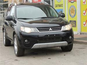 2008 Mitsubishi Outlander XLS#AUTO#LEATHER#NAVIGATION#SUNROOF
