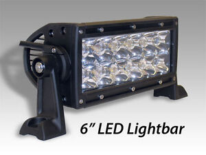 6.5'' LED Light Bar Kit Flood/Spot Combo with 1 Year Warranty