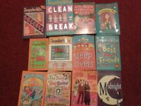 12 Jacqueline Wilson Books! GREAT PRICE! Used books in good condition