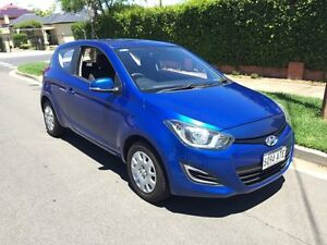 2012 Hyundai i20 PB Active Blue 5 Speed Manual Hatchback Broadview Port Adelaide Area Preview
