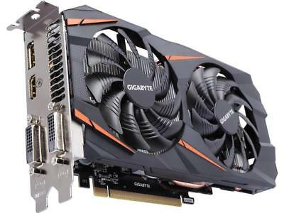 GIGABYTE GeForce GTX 1060 DirectX 12 GV-N1060WF2OC-3GD 3GB 192-Bit GDDR5 PCI Exp