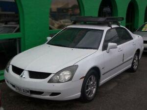 2004 Mitsubishi Magna TL AWD White 5 Speed Sports Automatic Sedan