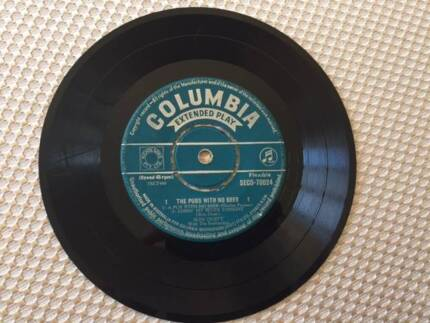 Slim Dusty - Columbia SEGO 70024 - The Pubs With No Beer – 1959