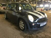 2006 MINI ONE 1.6 SEVEN 3 DOOR HATCHBACK PETROL MANUAL 4 SEAT GOOD DRIVE CHEAP INSURANCE N COOPER