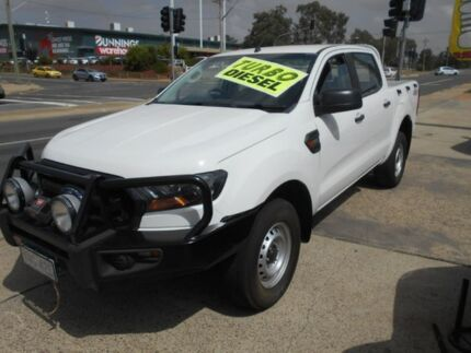 2016 Ford Ranger PX MkII XL Double Cab White 6 Speed Sports Automatic Utility Fyshwick South Canberra Preview