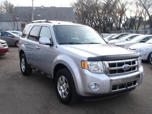 2011 FORD ESCAPE LIMITED 4X4 LEATHER SROOF-100% APPROVED FINANCE Edmonton Edmonton Area image 2