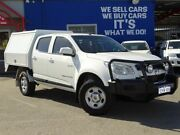 2013 Holden Colorado RG MY14 LX Crew Cab White 6 Speed Manual Cab Chassis Welshpool Canning Area Preview