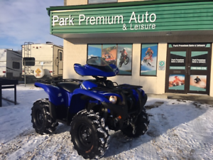 REDUCED!!  2014 YAMAHA GRIZZLY LIMITED WITH POWER STEERING!