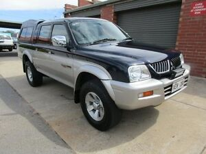 2004 Mitsubishi Triton MK GLS (4x4) Blue 4 Speed Automatic 4x4 Holden Hill Tea Tree Gully Area Preview