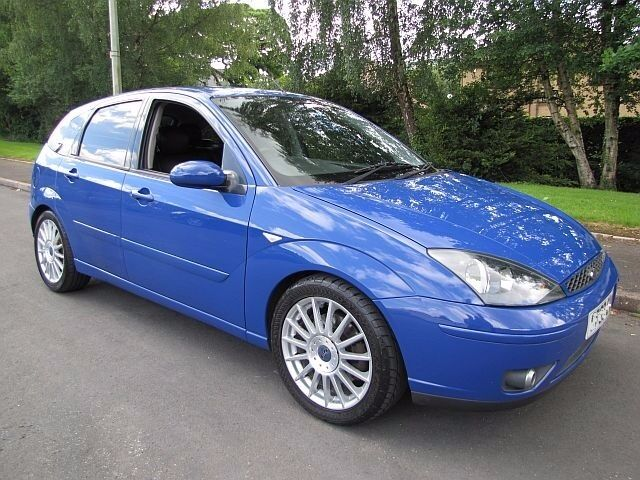 2003 03 Ford Focus ST170. Rare Capri Blue. Only 68,245 Miles. PX Possible