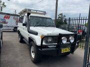 1991 Toyota Landcruiser HZJ75RV Troopcarrier White 5 Speed Manual Hardtop Edgeworth Lake Macquarie Area Preview
