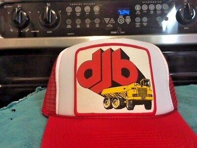 Djb Dump Truck Hat Cap