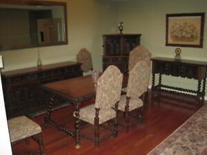 Mediterranean Style Dinning-room Complete or Separate Pieces