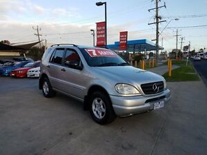 2001 Mercedes-Benz ML W163 320 Luxury (4x4) 5 Speed Auto Tipshift Wagon Cairnlea Brimbank Area Preview