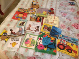 Book bundle ....bargain..toddler...baby BOOKS..wooden toys..Childminder