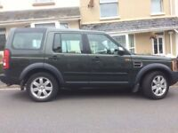 2005 Land Rover Discovery 3 TDV6 7 seat 5 door diesel