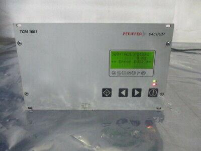 Pfeiffer TCM 1601 Turbo Molecular Pump Controller, PM C01 675 BA, 452575