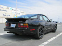 Black 1987 Porsche 944 Coupe - Excellent Condition