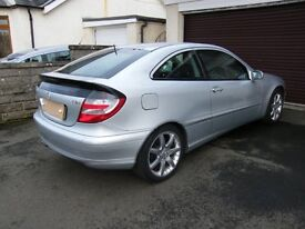 Mercedes Benz C200 CDI Sports Coupe