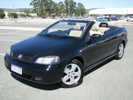 2006 Holden Astra TS MY06 Black 4 Speed Automatic Convertible Maddington Gosnells Area Preview