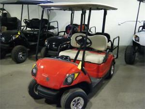 2014 Yamaha Drive Custom Golf Cart with OEM New Painted Body!