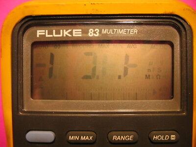 Fluke 83 83-lll 85 85-lll Display Repair Kit- Faded Lcd Digits- Segments