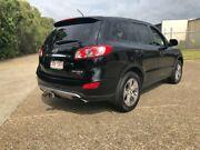 2012 Hyundai Santa Fe CM MY12 Trail Black 6 Speed Sports Automatic Wagon Woodridge Logan Area Preview