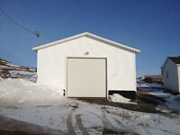 New detached garage for sale in Bonavista!
