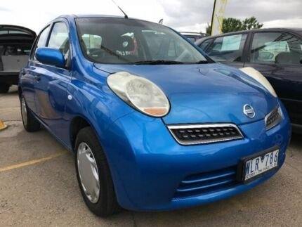 2008 Nissan Micra K12 Blue 4 Speed Automatic Hatchback Maidstone Maribyrnong Area Preview