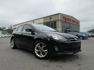 2014 Ford Focus TITANIUM, HTD. LEATHER, BT, 66K!