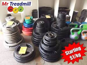 WEIGHT PLATES >> STARTING AT $1.00/KG | Mr Treadmill Geebung Brisbane North East Preview