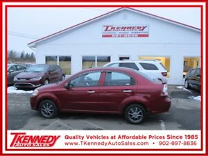 2011 Chevrolet Aveo LT PAYMENTS  AS LOW AS $70.00 B/W HST INCL