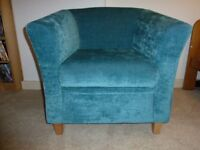 Teale armchair for sale - perfect condition