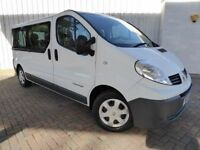 Renault Trafic 2.0 LL29 DCI 115 9 Seat Minibus, Lovely Low Mileage Example, No Vat, PRICE REDUCED !!