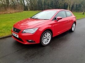 Seat Leon 2016 Year Extremely low mileage 6800! Nearly new car +VIDEO