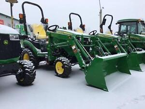 NEW JOHN DEERE 1025R - WITH H120 LOADER - 6Y WARRANTY - $357/MO