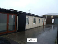 secure offices with large reception and storeroom to let, all incl option avaialable