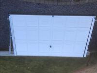 Garage Door, made by Hormann