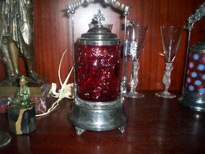 antique castor pickels Rare