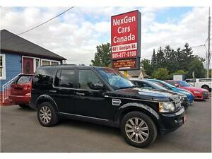 2012 Land Rover LR4 HSE LUXURY 7 PASSENGER NAVIGATION LOADED