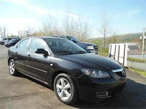 DEAL! 2007 MAZDA 3 POWER WINDOWS, A/C NEW ROTORS/PADS ALL AROUND