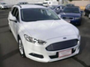 2015 Ford Mondeo MD Ambiente PwrShift White 6 Speed Sports Automatic Dual Clutch Wagon Melrose Park Mitcham Area Preview
