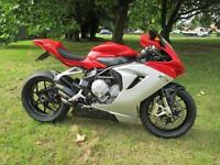MV Agusta F3 Super Sports Motorcycle